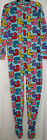 Adult Womens Footed Pajamas Large Joe Boxer Rubber Ducks Ducky Sleepwear  Pjs