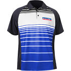 Throttle Threads Parts Unlimited Mens Polo Blue