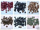 """Buttons 5/8"""" Different Color Black Berry Green Blue Brown Tans 41 to 300 per bag"""