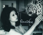 Lana Wood Signed Photo - With leopard!!!!! - A9