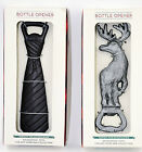 Cast Iron Bottle Opener Mens Neck Tie Or Moose U Pick Gift Quality item man cave