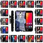 For LG Escape 2 | Clip + Holster + Case Combo Kickstand Space and Stars