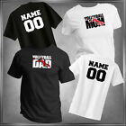 Volleyball Mom or Dad (U-Pick) & Personalize T-Shirt All Adult Sizes XS - 6XL