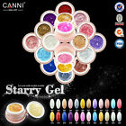 CANNI Starry Gel UV/LED Color Glitter Shimmer Builder Soak Off Gel Nail Art Tips