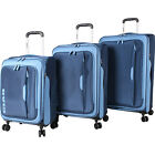 CIAO! Bello 3 Piece Expandable Spinner Collection Luggage Set NEW
