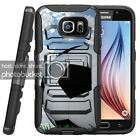 Samsung Galaxy S7 | Rugged Holster Clip Heavy Duty Case Soccer