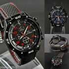 Men's Men Watch Sports Rubber Quartz F1 GT Military Army Analog Dial Wristwatch