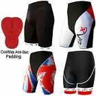 Cycling Cycle Shorts Padded Street Racing ANTI-BAC Bicycle Lycra Shorts