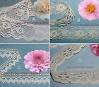 "Ivory Lace Trim 19-105 Yards CLOSEOUT 5/8""-1-3/8"" 048KV Added Trims ShipFree"