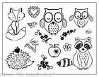 VIVA DECOR Clear Stamps MY PAPER WORLD Silikon Stempel Tiere KLEINE FREUNDE 153