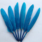 Wholesale 20/40/100 PCS Colorfull Goose Feather 4-6 inches 10-15 cm CA