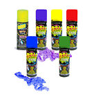 SILLY STRING - Choice of Colour (Wacky Party Streamers) Birthday Fun Hen Favour