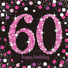 60th birthday serviettes