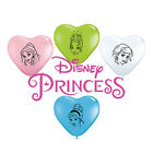 "8 x Disney Princess 6"" (Small) Latex Balloons FACES (Party/Birthday)(Qualatex)"