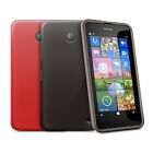 GEL CASE SKIN TPU COVER FOR NEW NOKIA LUMIA 630 / 635 WITH SCREEN PROTECTOR