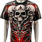 r188 Rock Eagle T-shirt Sz M L XL SPECIAL Tattoo Skull Devil Eye Demon Men Tee