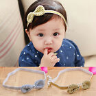Kids Girl Baby Toddler Bow Headband Hair Band Accessories Headwear For Infant HF