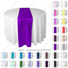 Satin table runner chair sash wedding party banquet venue christmas decoration