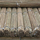 7FT Heavy Duty Strong Bamboo Garden Canes Plant Support Bamboo Sticks Poles