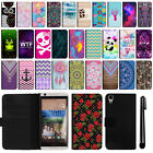 For HTC Desire 626 626S Magnetic Flip Wallet Leather POUCH Case Cover + Pen