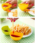 Kitchen Cutlery Dip Clips Bowl mini Dish For Spice Tomato Sauce Peanut Butter