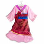 Disney Store Princess Mulan Halloween Costume Dress Girl Size 5/6 7/8