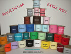 "EXTRA WIDE 1/2"" Double Fold Bias Tape **TEN YARDS** 23 COLORS"