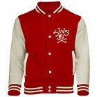 SLEEPING WITH SIRENS SWS Skeleton Bones BASEBALL STYLE VARSITY JACKET JACKE NEU
