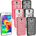 Cute Rubberized Damask Pattern Matte Hard Case Cover For Samsung S3 S6 Note5