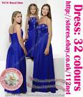 Sequin beads bridesmaid flower girl wedding formal evening party prom dress gown