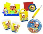 Disney HANDY MANNY Party Range (Kids/Birthday/Tablecover/Cups/Balloons)