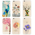 Colorful Transparent Soft TPU Case Cover For iPhone 6s 6s Plus SE 5s 5