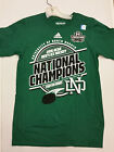 UND Hawks National Champions Locker Room T-Shirt 2016 NCAA North Dakota Sioux
