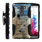 For LG V10 | Rugged Holster Belt Clip Heavy Duty Case Wild Animals