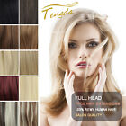 Clip in 100% Remy Human Hair Extensions 7pcs/set 14colors