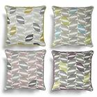 "COPELAND MODERN GEOMETRIC PRINTED CUSHION COVER 17"" x 17"" 43cm x 43cm"