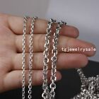 5/10/20Meters Silver Stainless Steel 2/3/4/5mm Wholesale Round Rolo Chains