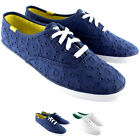 Womens Keds Champion Eyelet Lace Up Plimsoll Casual Summer Trainers New UK 3-8