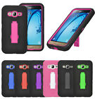 For Samsung Galaxy J7 2016 Impact Heavy Duty Stand Hybrid Hard Phone Cover Case