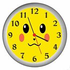 POKEMON ROOM DECOR WALL CLOCK NEW