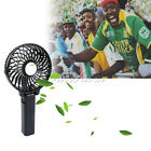 HOT Portable Hand-Held USB Mini Fan Cool Air for Watch Live Football Game Travel