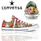 Ladies Converse Skull Printed Trainers Women Casual  Shoes Size UK 3 4 5 6 7 8