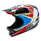 2016 Troy Lee Designs TLD D2 Sonar Helmet Red White BMX Mountain 13909641