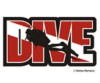 Dive Scuba Diver Decal Flag Water Search and Rescue Diving SAR Vinyl Sticker EMA