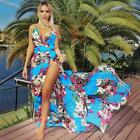Sexy Fashion Lady Summer Loose Sleeveless Strapy Party Cocktail Beach Dress US