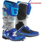 NEW 2016 GAERNE SG12 MOTOCROSS BOOTS GREY CYAN BLUE ALL SIZES