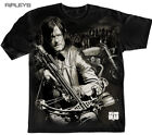 Official T Shirt THE WALKING DEAD Zombie  Daryl Dixon Crossbow All Sizes