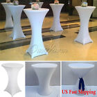 Circle Spandex Cocktail Table Cover Cloth Poseur Lycra Table Cover 60cm S/L Size