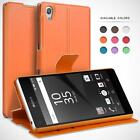 Wallet Case for Sony Xperia, Protective Leather Cases Flip Cover Book Cases