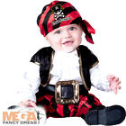 Pirate Baby 0-24 Months Fancy Dress Book Halloween Boys Toddler Childs Costume
